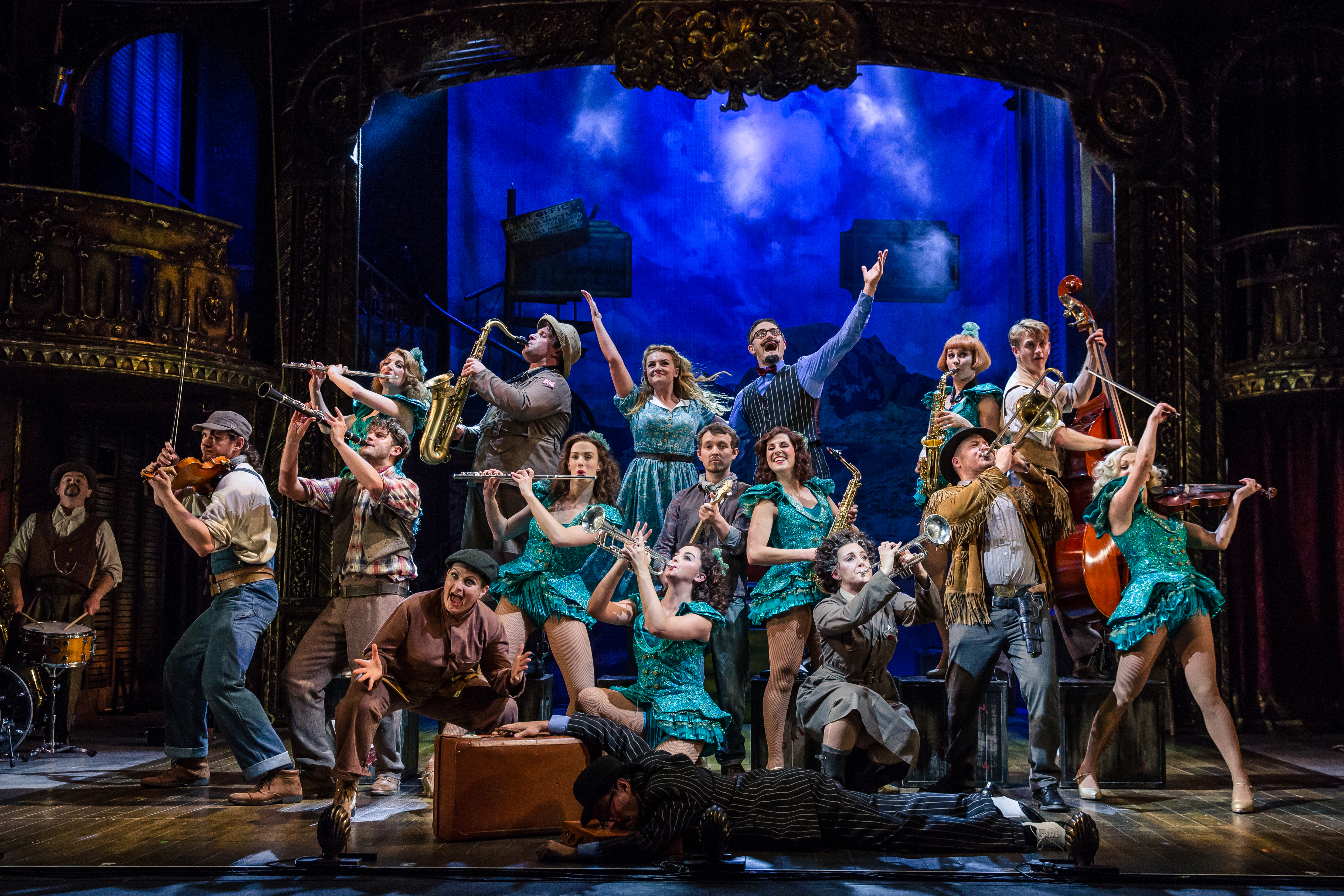 CRAZY FOR YOU UK TOUR - Jamie Wilson Productions
